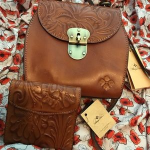 Patricia Nash Crossbody and Wallet combo